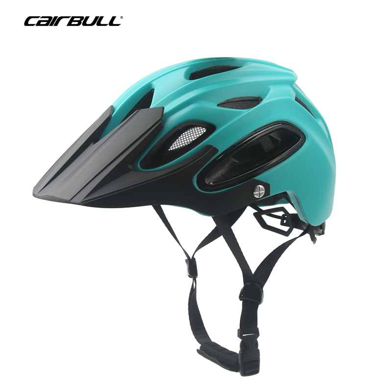 CAIRBULL Integrally-molded Bicycle Helmet All-terrai Cycling MTB Helmet EPS Windproof OFF-ROAD Bike Mountain Safety Cap 58-62cm