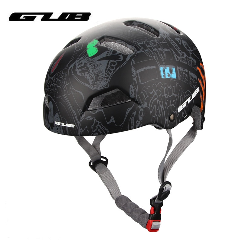 GUB Cycling Helmet MTB Downhill DH Riding Photography Helmet Outdoor Sport Climbing Bicycle Scooter Protective Safety Helmet
