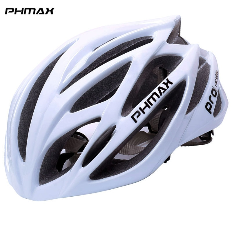 PHMAX Bicycle Helmet For Men Ultralight EPS+PC Cover MTB Road Bike Helmet Integrally-mold Cycling Helmet Cycling Safely Cap