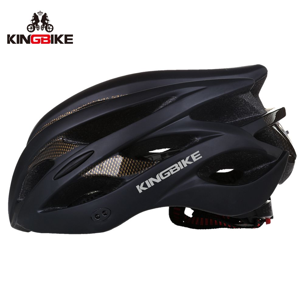 BATFOX Bicycle Helmets 56-60cm Black EPS+PC light Helmet cascos ciclismo Mountain Road mtb Integrally Molded Cycling Helmets
