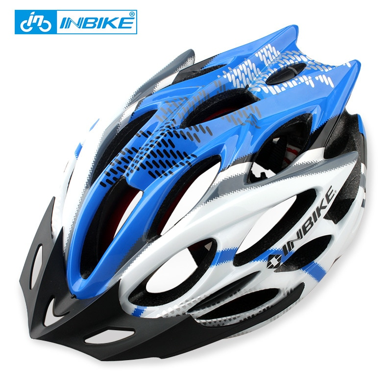 INBIKE Cycling Helmet 22 Vents Integrally-molded Helmet Ultralight Bicycle Helmet H829
