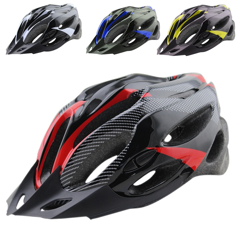 New Arrivals Adults 56-62cm 21 Holes Breathable Ultralight MTB Mountain Bike Bicycle Helmet Cycling Equipment capacete ciclismo