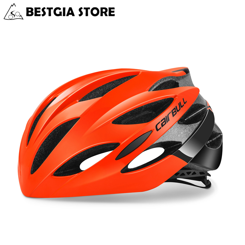 CAIRBULL Cycling Helmet Casco Ciclismo PC+EPS Bicycle Bike Road MTB Helmet Integrally-Molded Ultralight Breathable Safety Helmet