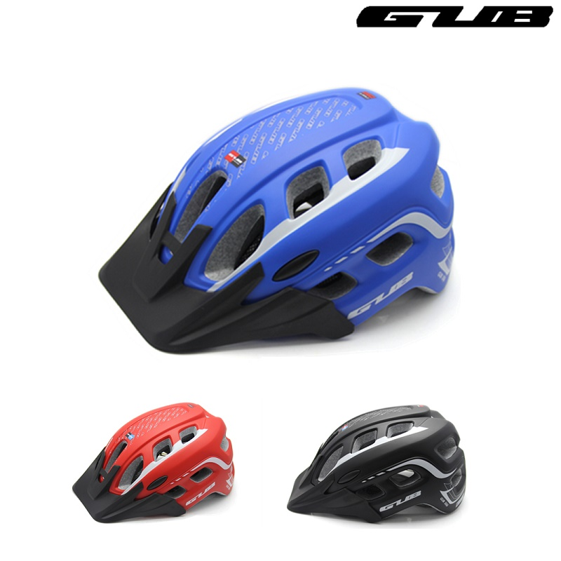 GUB XX6 Bicycle Helmet 19 Holes Integrally Molded Cycling Helmet Mountain Bike EPS Safety Cap Road Bike Cascos Ciclismo Capacete