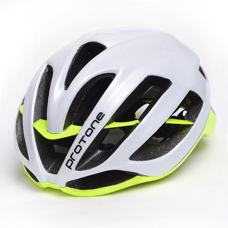 Protone Aero Cycling Helmet Integrally-molded Ultralight Road MTB XC Trail Bike Helmets EPS+PC Adult Bicycle Helmet M L
